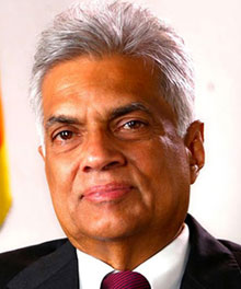 PM Ranil Wickramasinghe
